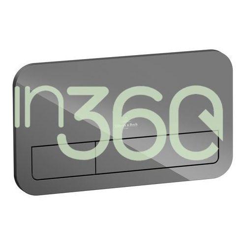Villeroy & boch viconnect przycisk szkło glossy grey 922400ra