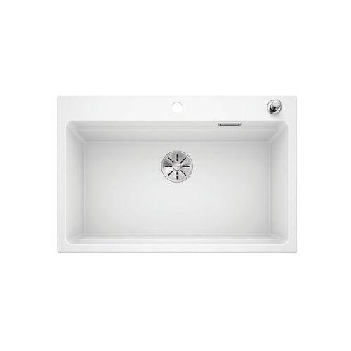 etagon 8 silgranit puradur biały, korek auto., infino, szyny - biały połysk \ automatyczny marki Blanco