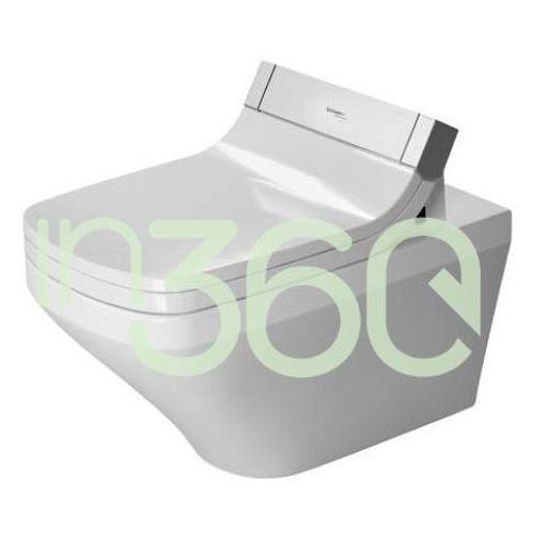 Duravit DuraStyle Miska WC wisząca 37x62 bezrantowa rimless biała 2542590000