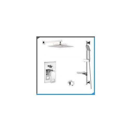 Podtynkowy zestaw prysznicowy z deante anemon bcz044p, chrom zest110 marki Zestawy