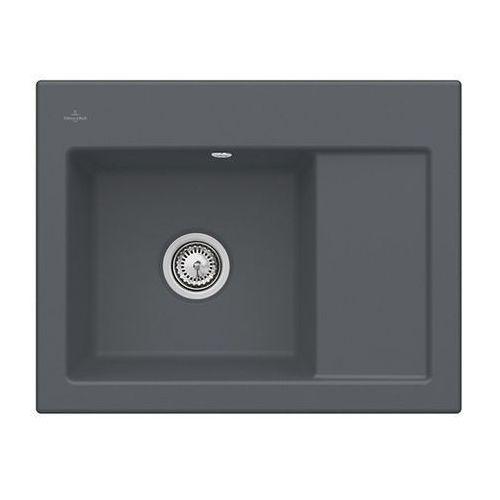 Zlew ceramiczny subway 45 compact - i4 graphit \ lewa \ manualny marki Villeroy & boch