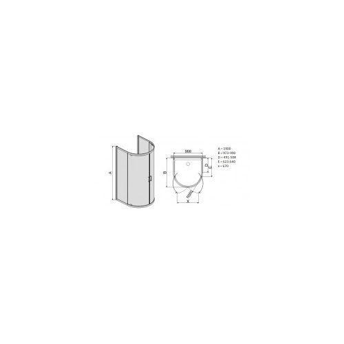 Sanplast Tx5 100 x 100 (600-271-0450-38-371)
