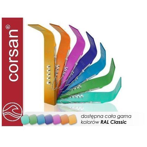 Corsan Panel natryskowy akoja dowolny kolor
