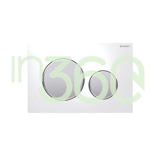 sigma20 przycisk uruchamiający przedni, biały-chrom mat-chrom mat 115.882.kl.1 marki Geberit