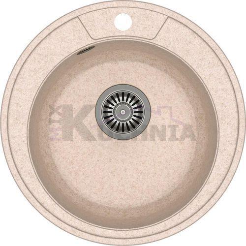 Quadron zlewozmywak danny 210 beżowy metalik / odpływ stalowy (hb8301u3-bs)