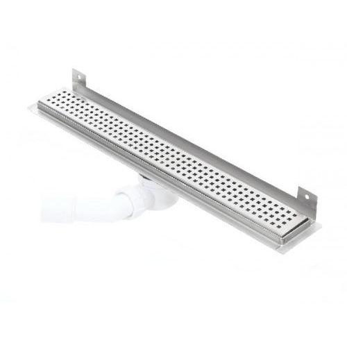 Kesmet wall silver caro odpływ ścienny 1000kwf_p 1000mm (syfon plastikowy)