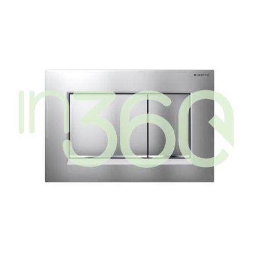 Geberit sigma30 przycisk uruchamiający przedni, chrom mat-chrom bł.-chrom mat 115.883.kn.1