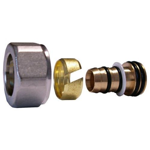 Złączka zaciskowa do rury z tworzywa sztucznego PEX GW M22x1,5 - 16x2 Schlosser 6026 00003.03 Stal