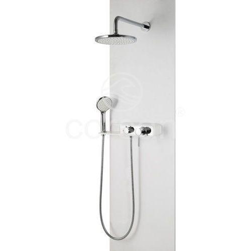 kolumna prysznicowa z mieszaczem podtynkowa konekto fiber cmn001 marki Corsan
